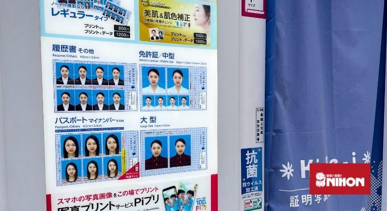 passport photo booth Japan