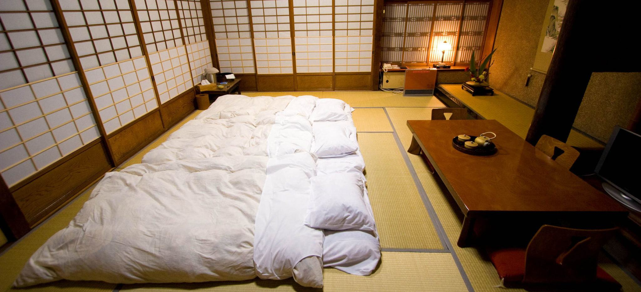 Futon Bed In Japan