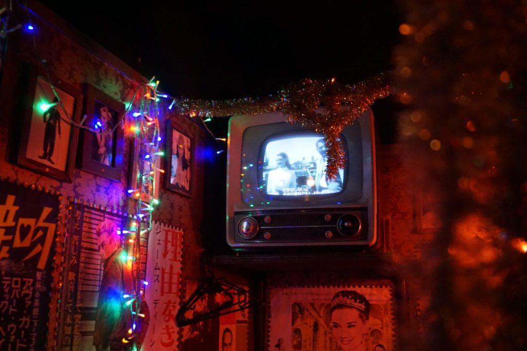 old tv at Hanbey
