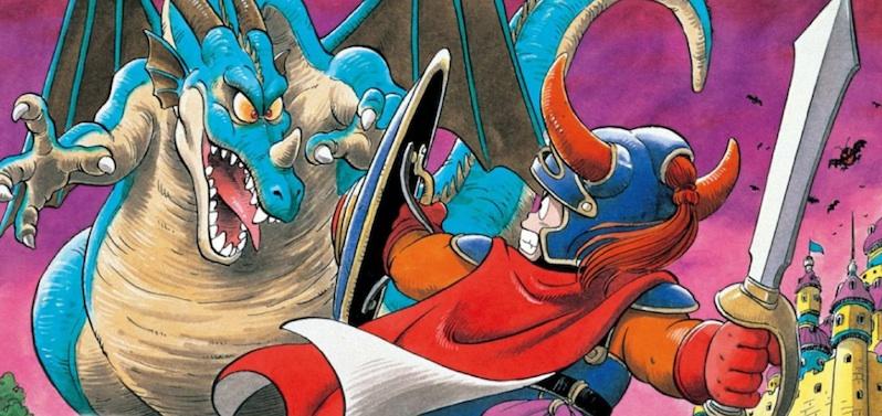 Dragon Quest original, ilustración de Akira Toriyama