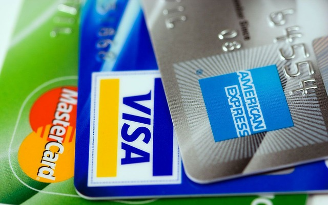 Tre tipi di carte di credito