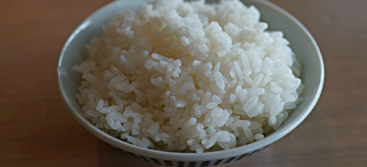 Riso bianco giapponese