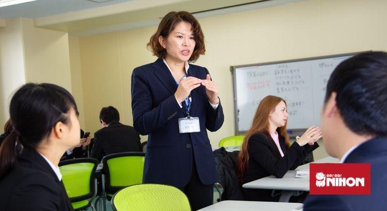 Japansk jobbintervju