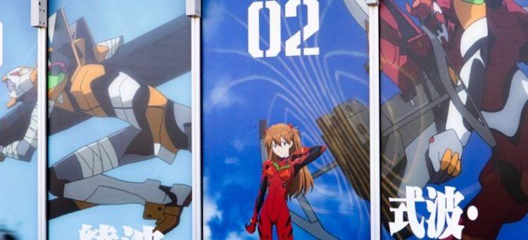 japanska animen