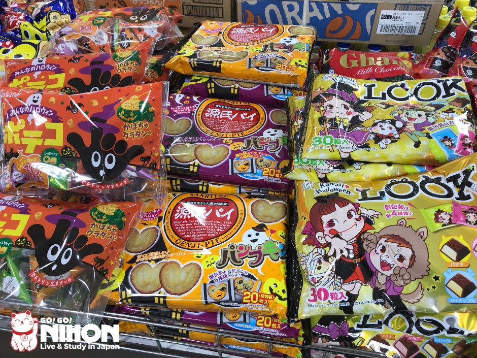 Halloween themed sweets