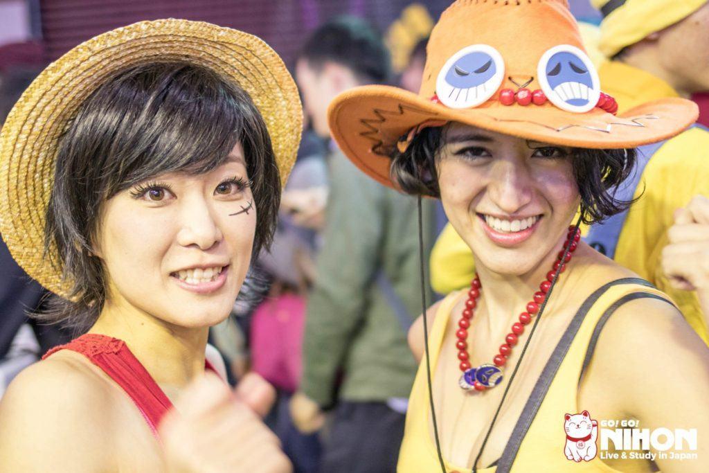 One Piece Halloween Kostüm in Japan width=