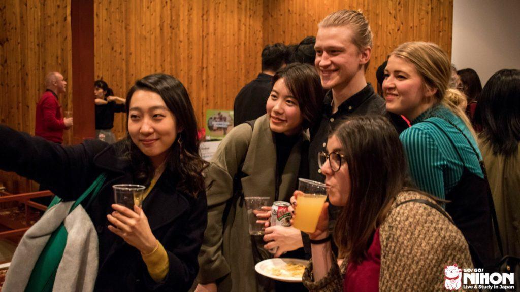 International party in Japan