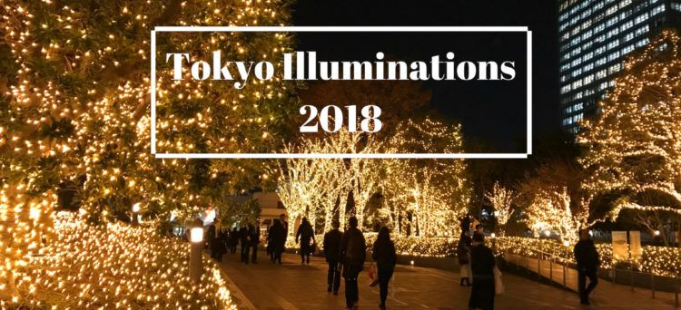 Winterbeleuchtung in Tokyo 2018