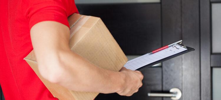 Neuzustellung von Post