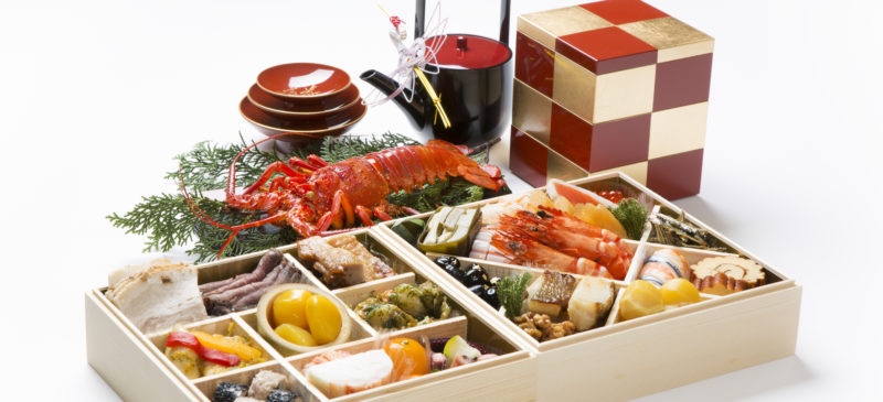La cuisine di Novel An au Japon Osechi ryōri