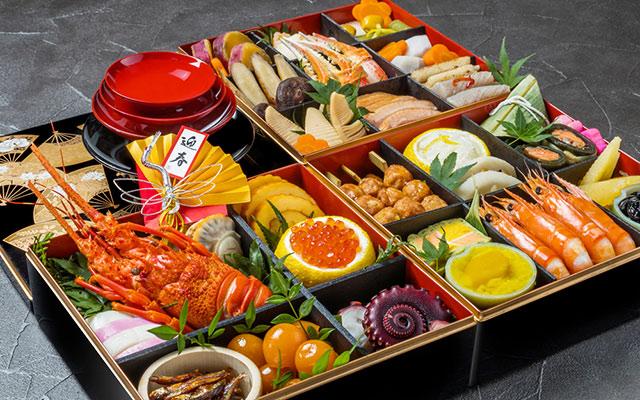 Exemple de Osechi ryori
