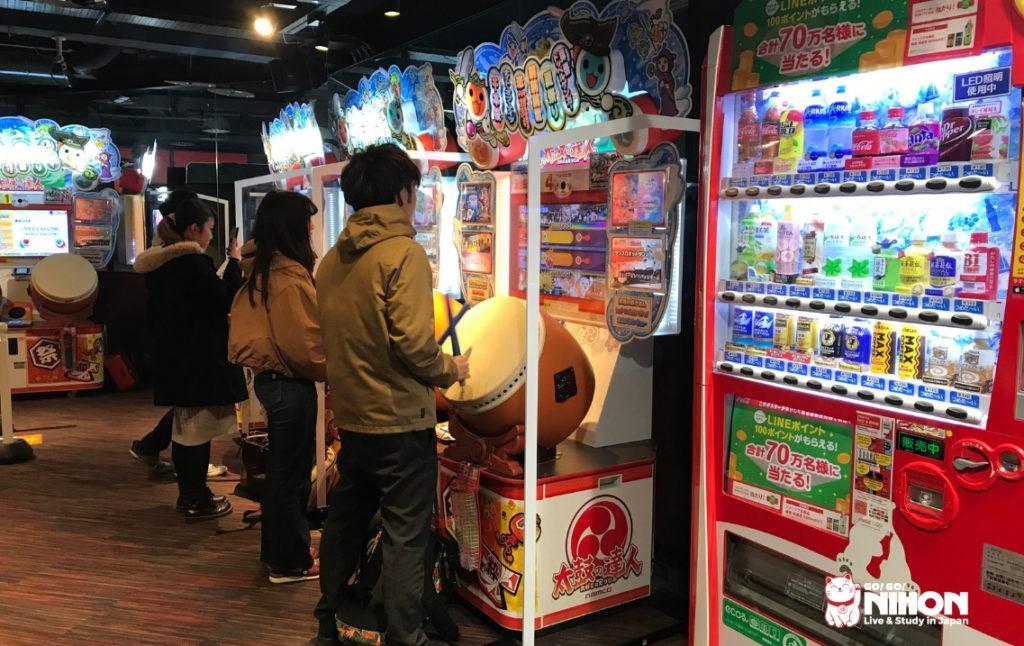 Taiko drum game