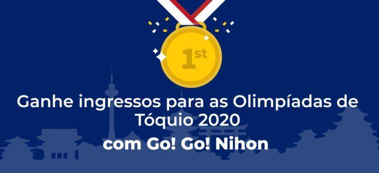 ingressos para as Olimpíadas de Tokyo 2020