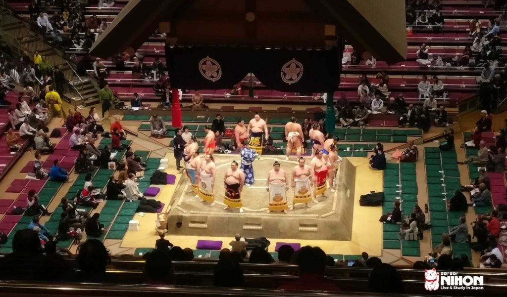Sumoturnering i Tokyo