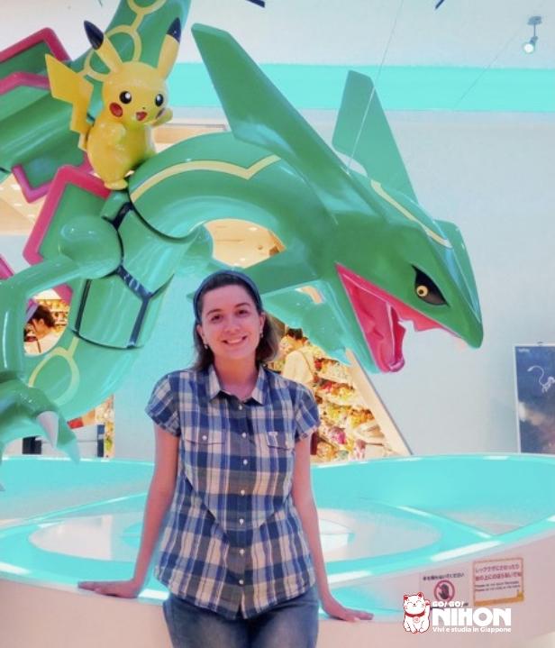 Giulia studentessa a Tokyo