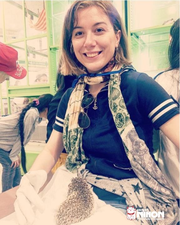 Giulia studentessa di Tokyo