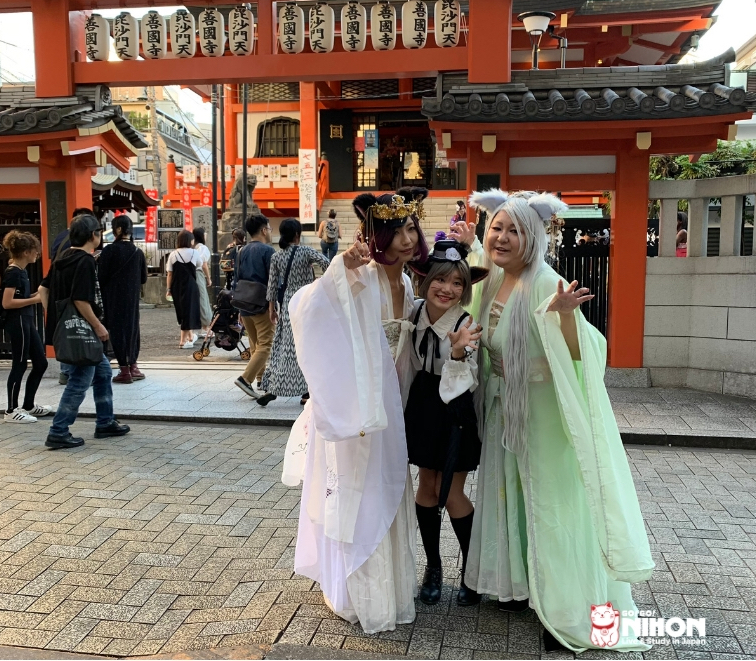Baneneko festival en kagurazaka