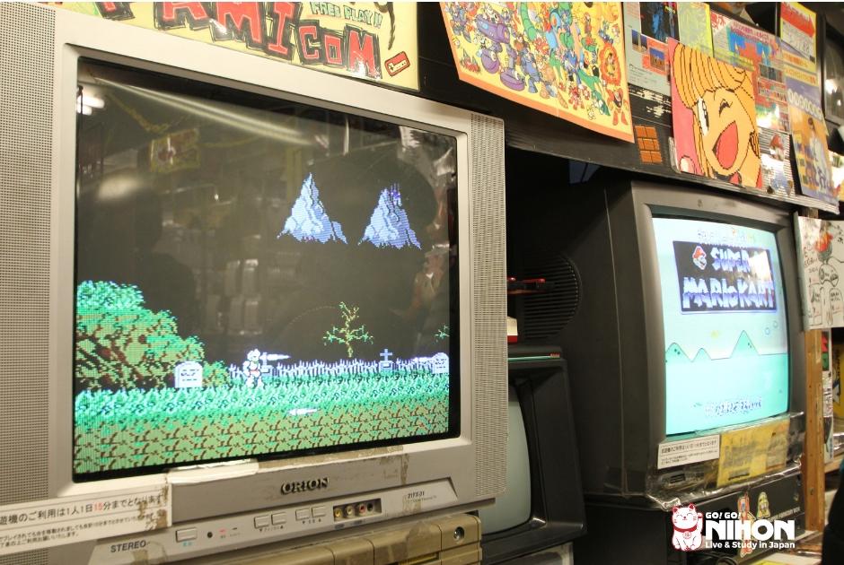 Retro game a Akihabara
