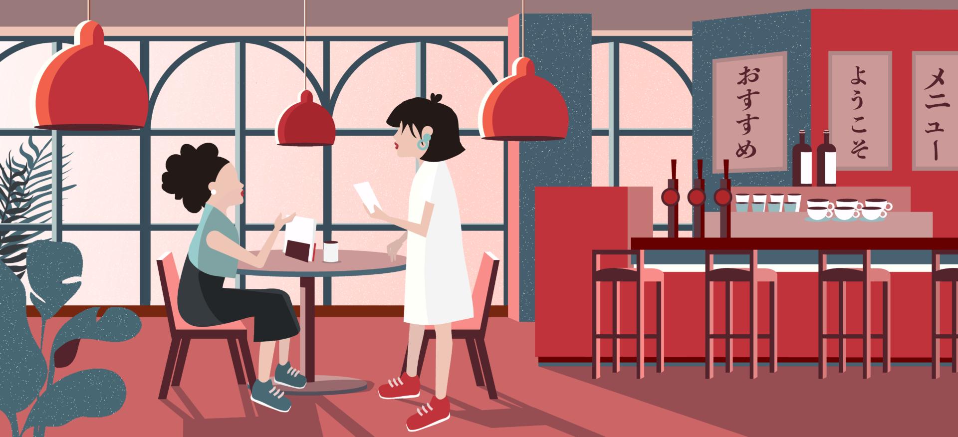Japanese phrases for restaurant
