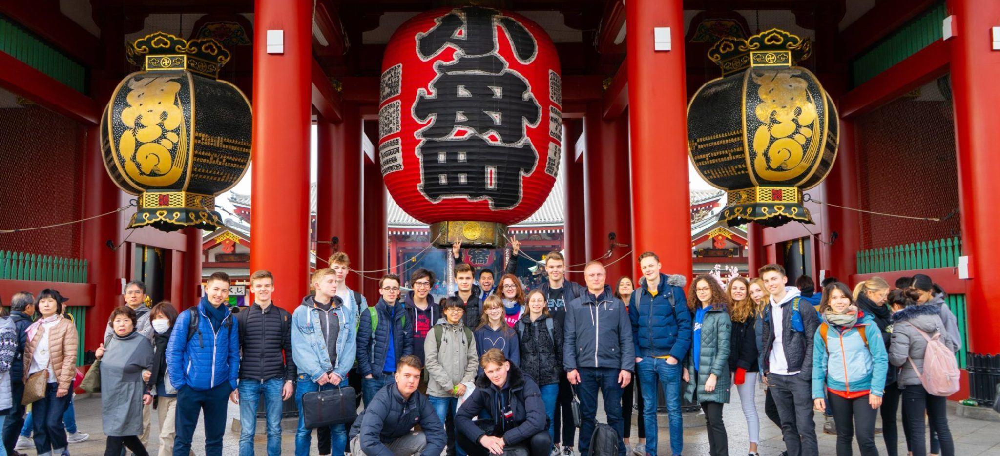 Study trip in Japan