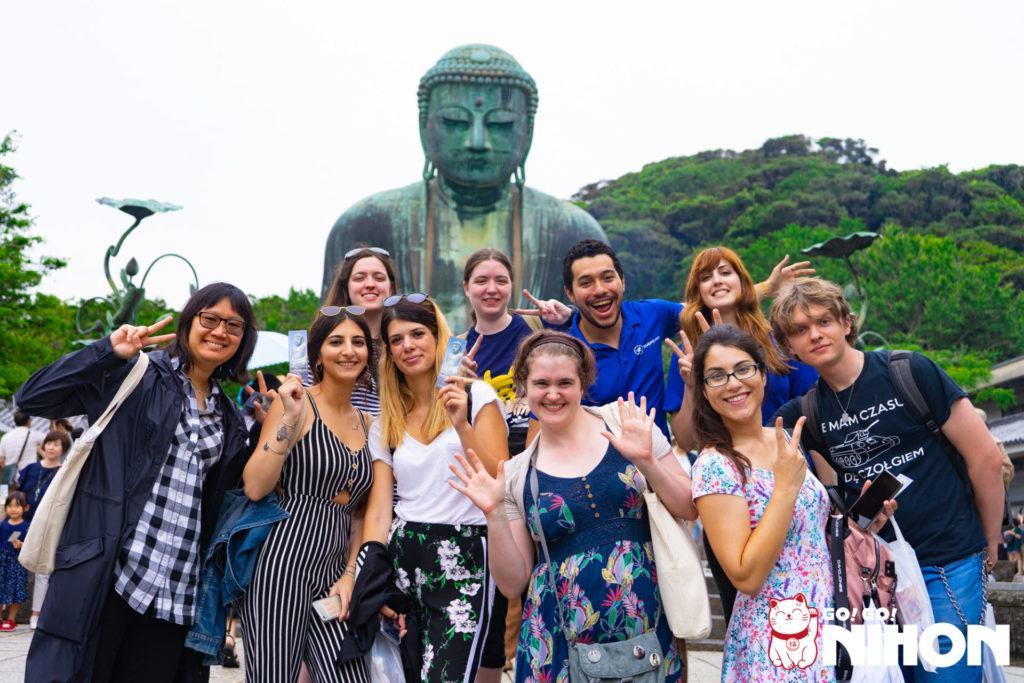 Study trips in Japan - Visiting Kamakura