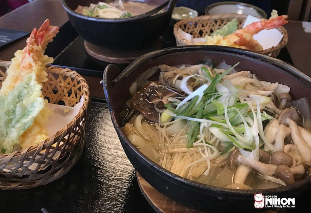 Hoto noodles in Kofu