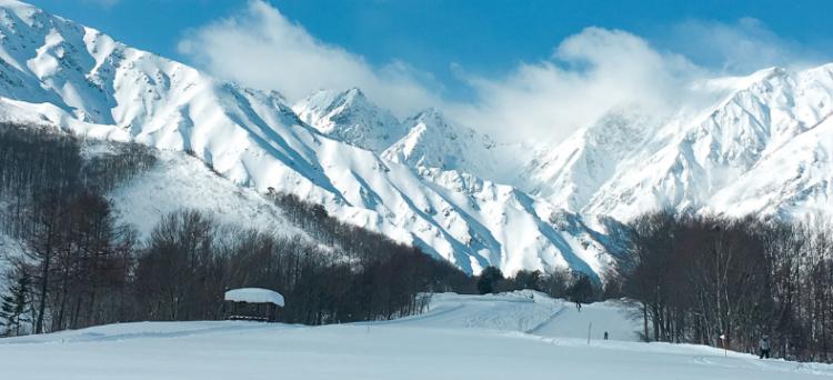 esquiar en Japón