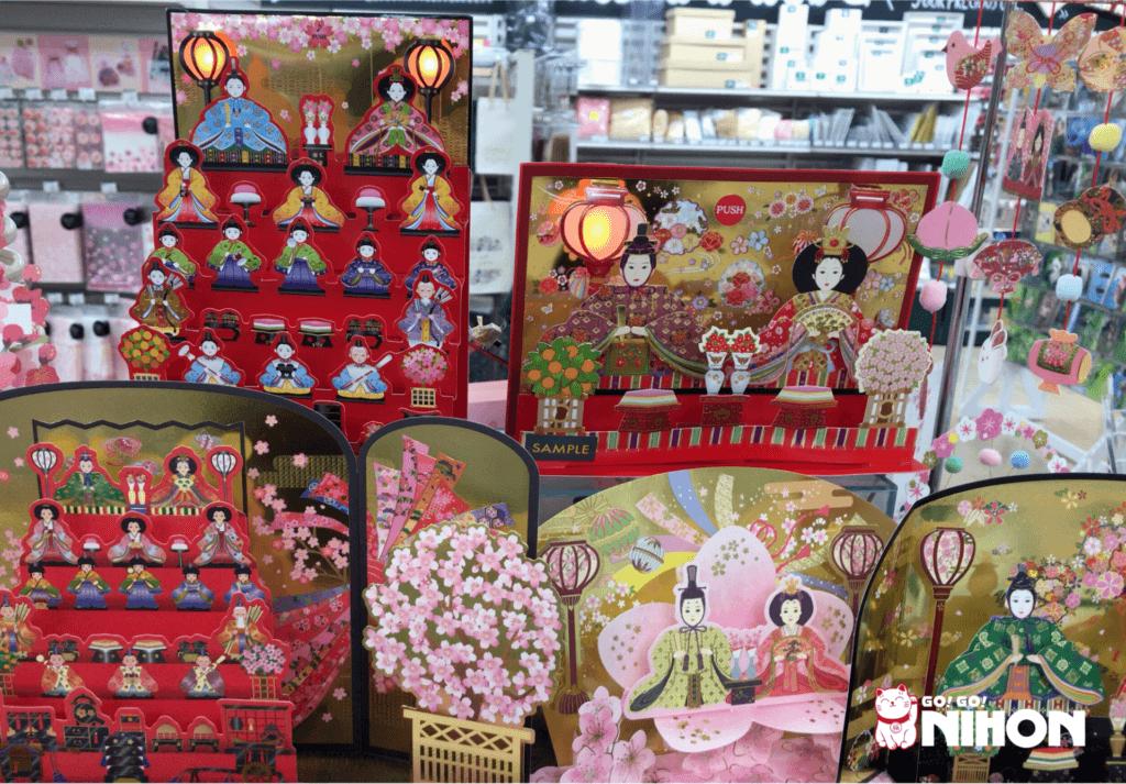 Hinamatsuri postcards