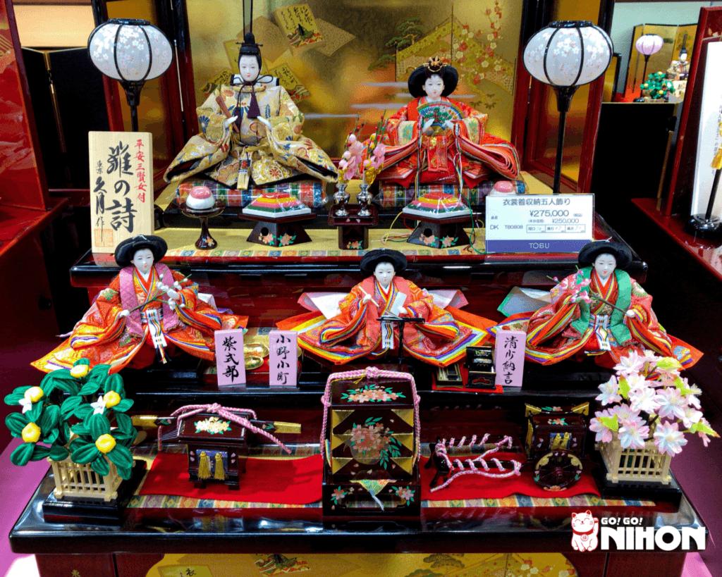 Hinamatsuri Puppen Preise