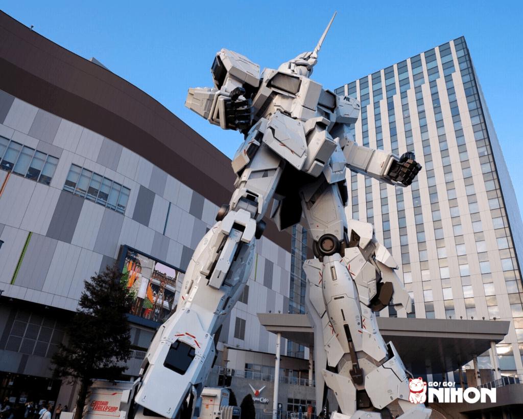 Statua Gundam Unicorn di Odaiba