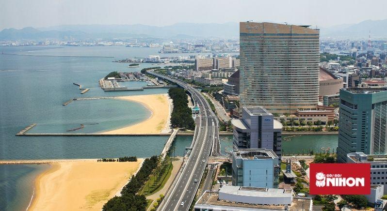 View of Fukuoka