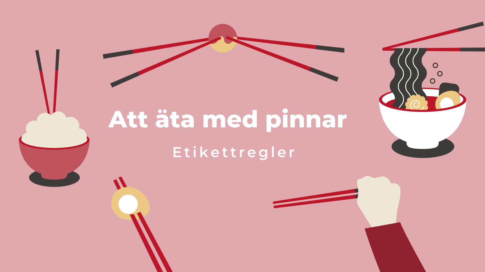 Japanese chopsticks etiquette Swedish