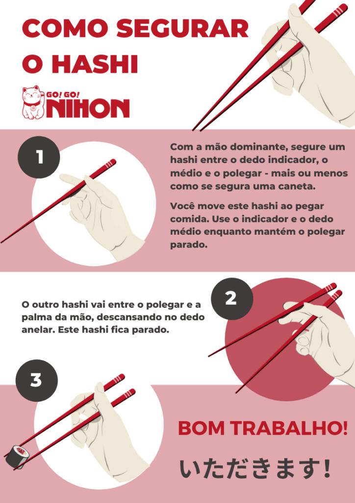 How to hold chopsticks PT