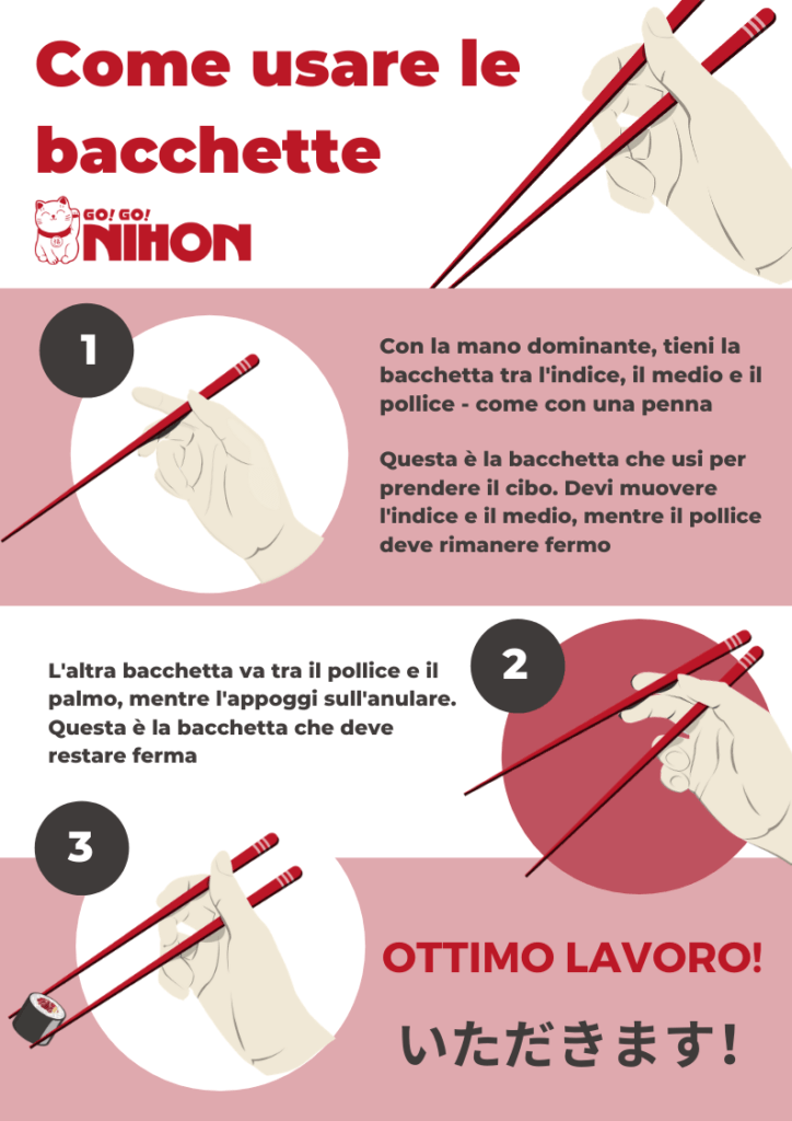 How to hold chopsticks IT