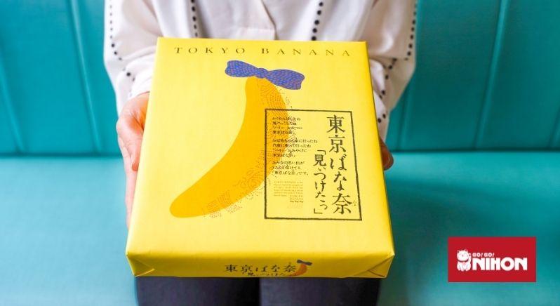 Tokyo Banana omiyage box