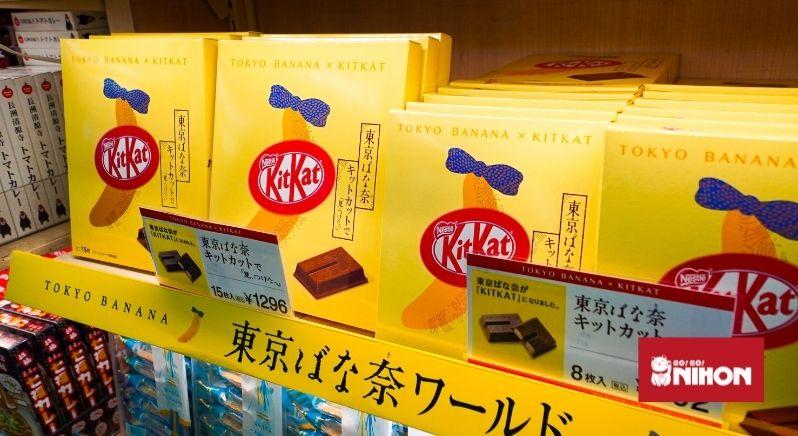 Tokyo Banana x Kit Kat omiyage