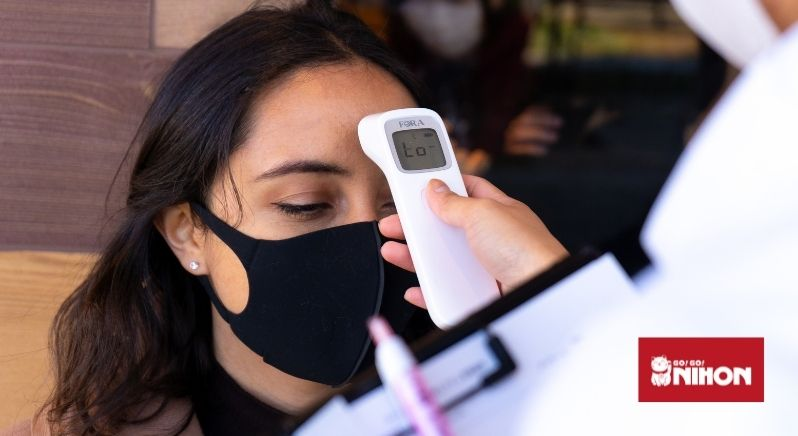 getting temperature tested
