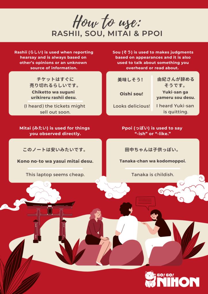 Rashii sou mitai infographic