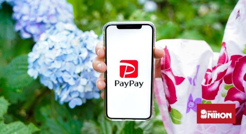 Paypay app on phone