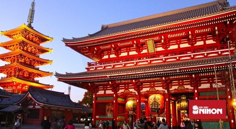 Sensoji-templet